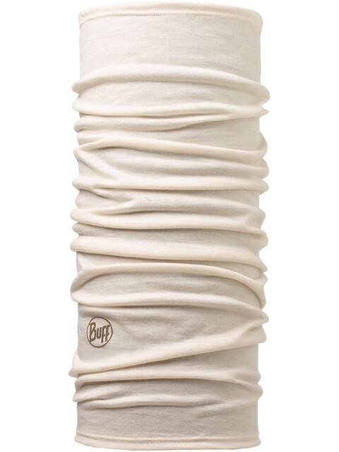 Buff Lightweight Merino Wool Neck Tube Solid Snow